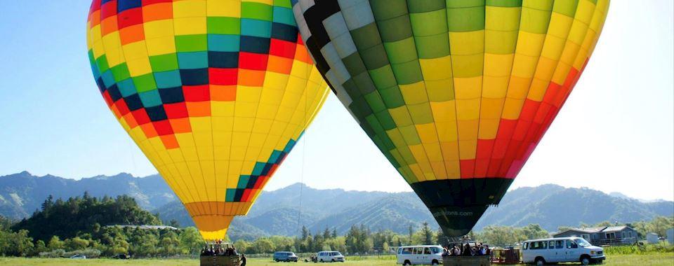 Napa Valley Hot Air Balloon Package at California Hotel