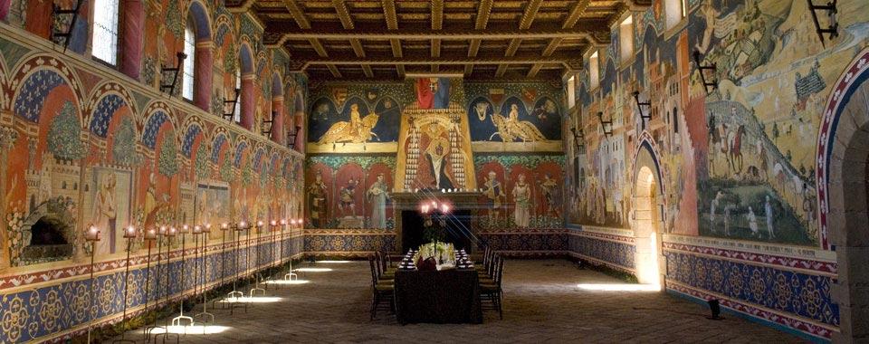Castello di Amorosa Wine Tasting Tour at California Hotel