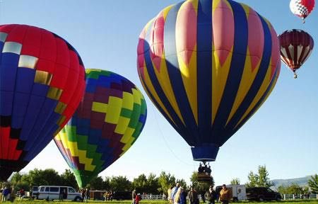 Napa Valley Hot Air Balloon Package at California Hotel